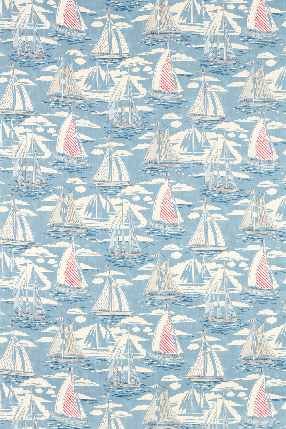 Sanderson Sailor Nautical Fabric - Product code: 226503