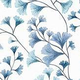 Cole & Son Maidenhair China Blue Wallpaper