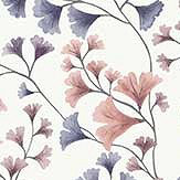 Cole & Son Maidenhair Mulberry / Ink Wallpaper - Product code: 115/6020