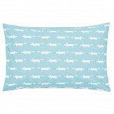 Scion Mr Fox Housewife Pillowcase Pair Teal
