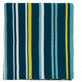 Scion Mr Fox Knitted Throw Teal - Product code: DA40318035