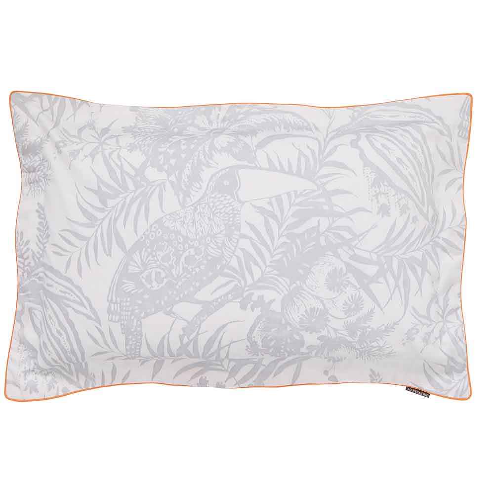 Toco Oxford Pillowcase - Silver - by Harlequin