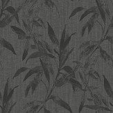Galerie Leaves Charcoal Wallpaper