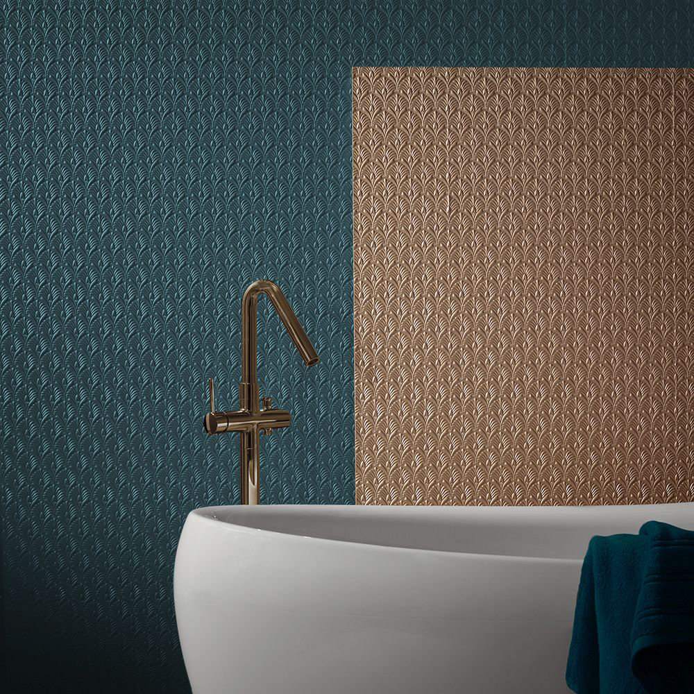 Lincrusta Fanfare Paintable Wallpaper - Product code: RD1975FR