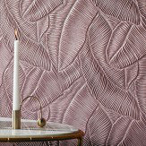 Lincrusta Tropical Leaf Paintable Wallpaper