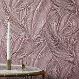 Lincrusta Tropical Leaf Paintable Wallpaper