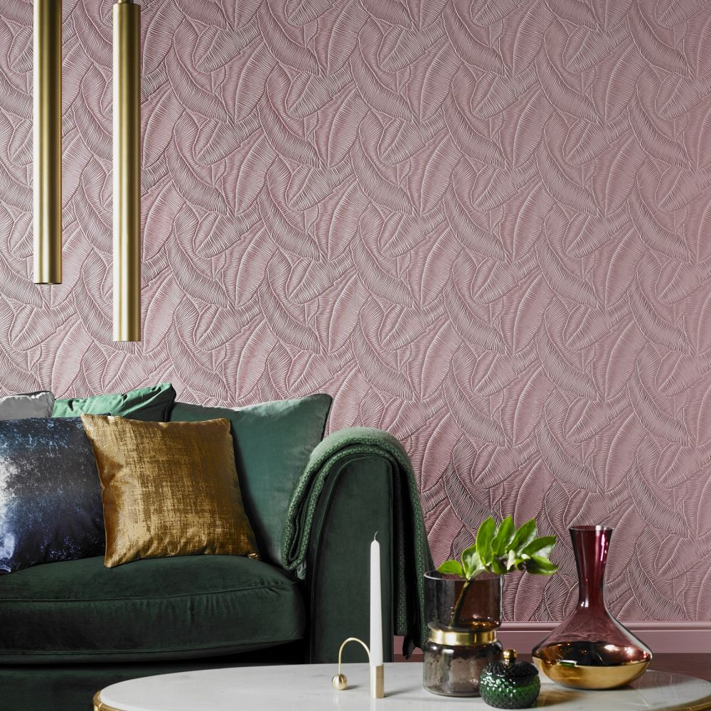 Lincrusta Tropical Leaf Paintable Wallpaper - Product code: RD1976FR