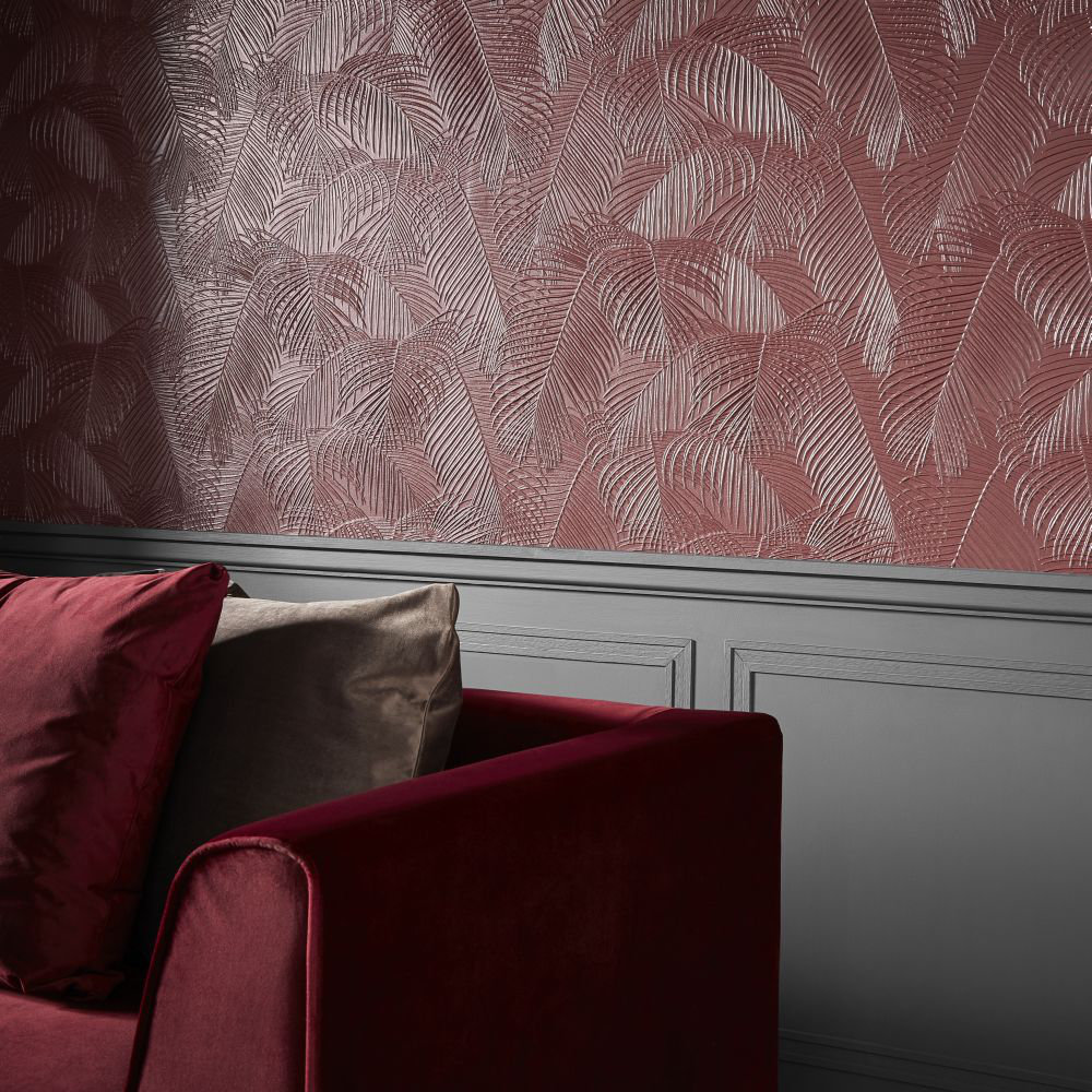 Lincrusta Palm Paintable Wallpaper - Product code: RD1978FR