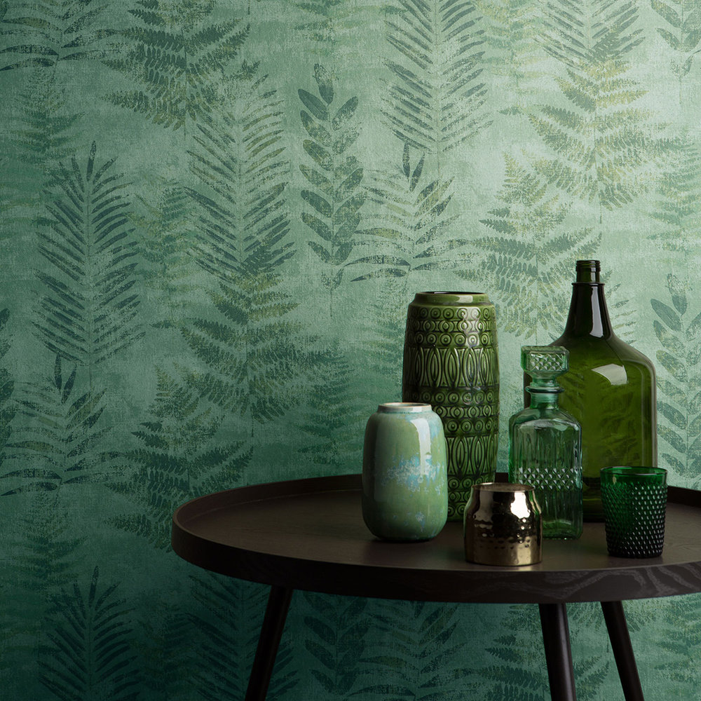 Galerie Fern Green Wallpaper - Product code: TP21261