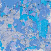 Ella Doran Peeling Paint Blue Hue Wallpaper - Product code: Peeling Paint Blue