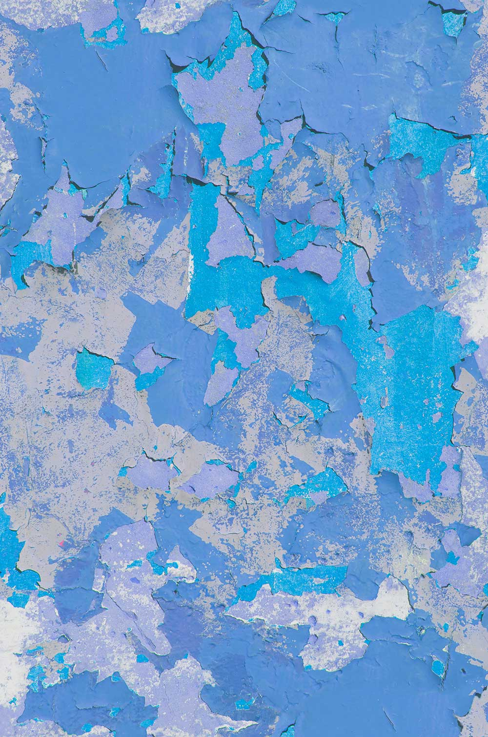 Peeling Paint Blue Hue