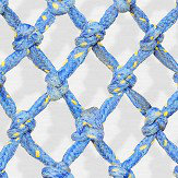 Ella Doran Diamond Rope Blue Wallpaper - Product code: Diamond Rope