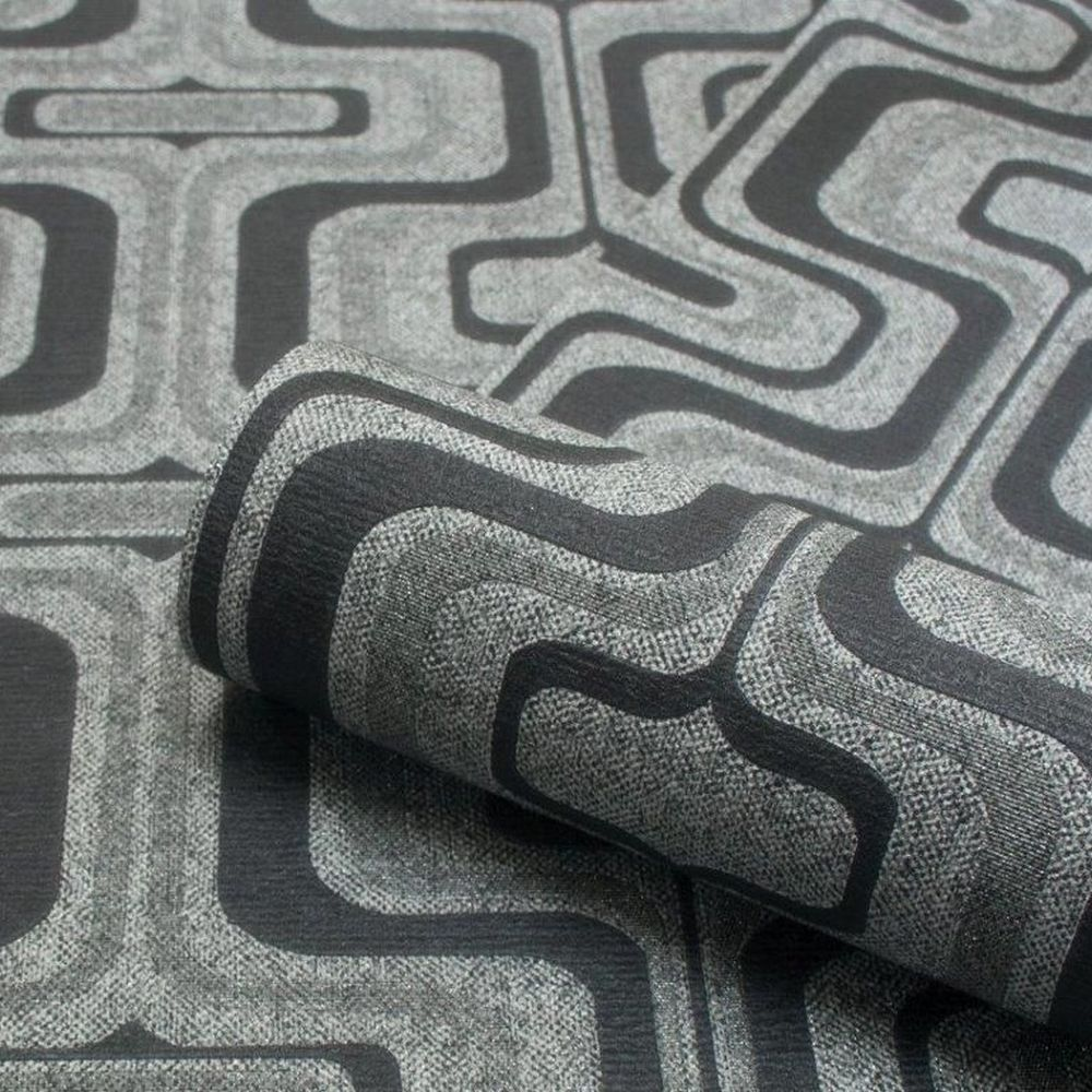 Albany San Remo Black Wallpaper - Product code: 6517