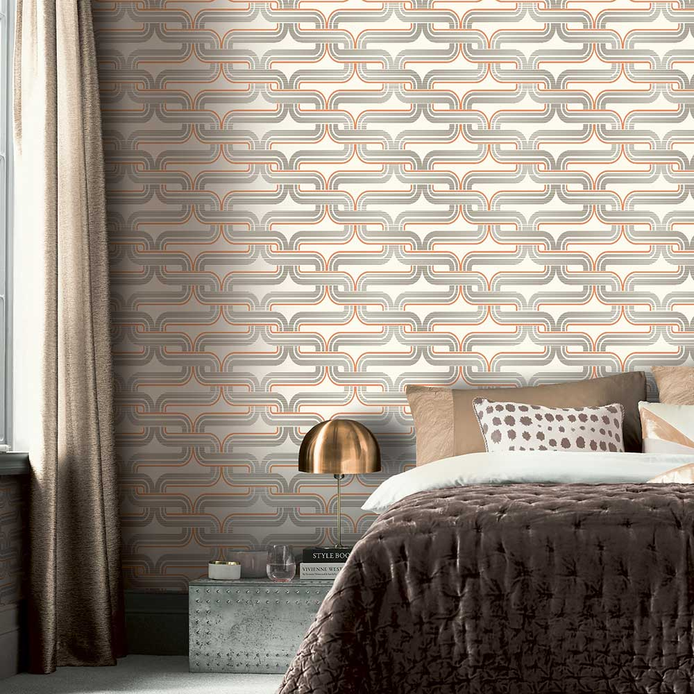 Arthouse Link Orange Wallpaper - Product code: 902404
