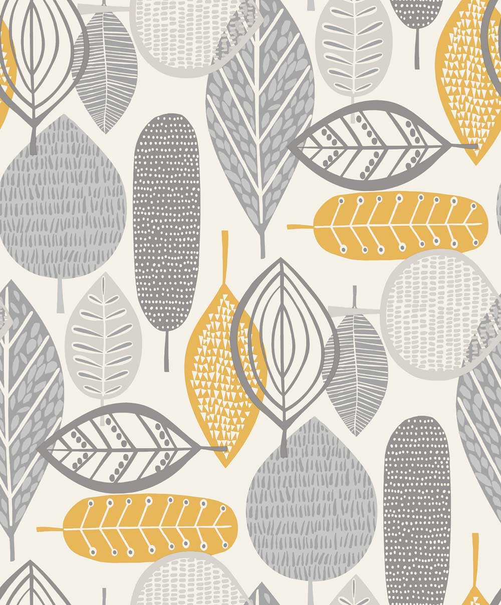 Arthouse Malmo Ochre Wallpaper main image