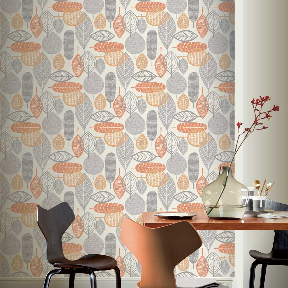 Arthouse Malmo Orange Wallpaper - Product code: 902301