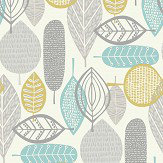 Arthouse Malmo Teal Wallpaper