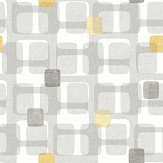Arthouse Retro Block Ochre Wallpaper - Product code: 901901