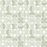 Arthouse Retro Circle Green Wallpaper - Product code: 902403