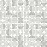Arthouse Retro Circle Grey Wallpaper - Product code: 902402