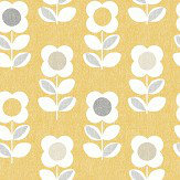 Arthouse Retro Flower Yellow Wallpaper - Product code: 902305