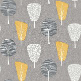 Arthouse Retro Tree Ochre Wallpaper - Product code: 902309