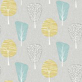 Arthouse Retro Tree Teal Wallpaper - Product code: 902401