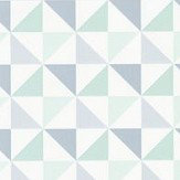 Caselio Shapes Mint Wallpaper - Product code: 100117061
