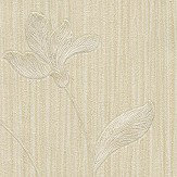Albany Livenza Floral Pale Gold Wallpaper