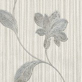 Albany Livenza Floral Grey and Charcoal Wallpaper - Product code: 4366