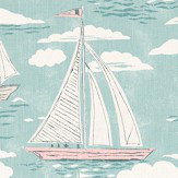 Sanderson Sailor Sky Fabric - Product code: 226504