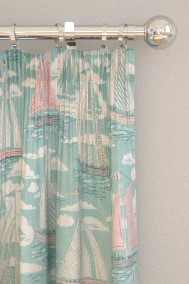Sanderson Sailor Sky Curtains - Product code: 226504