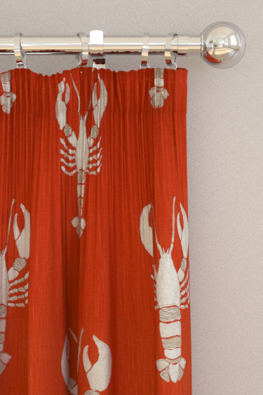 Sanderson Cromer Rust Curtains - Product code: 226506