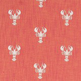 Sanderson Cromer Embroidery Coral Fabric - Product code: 236677