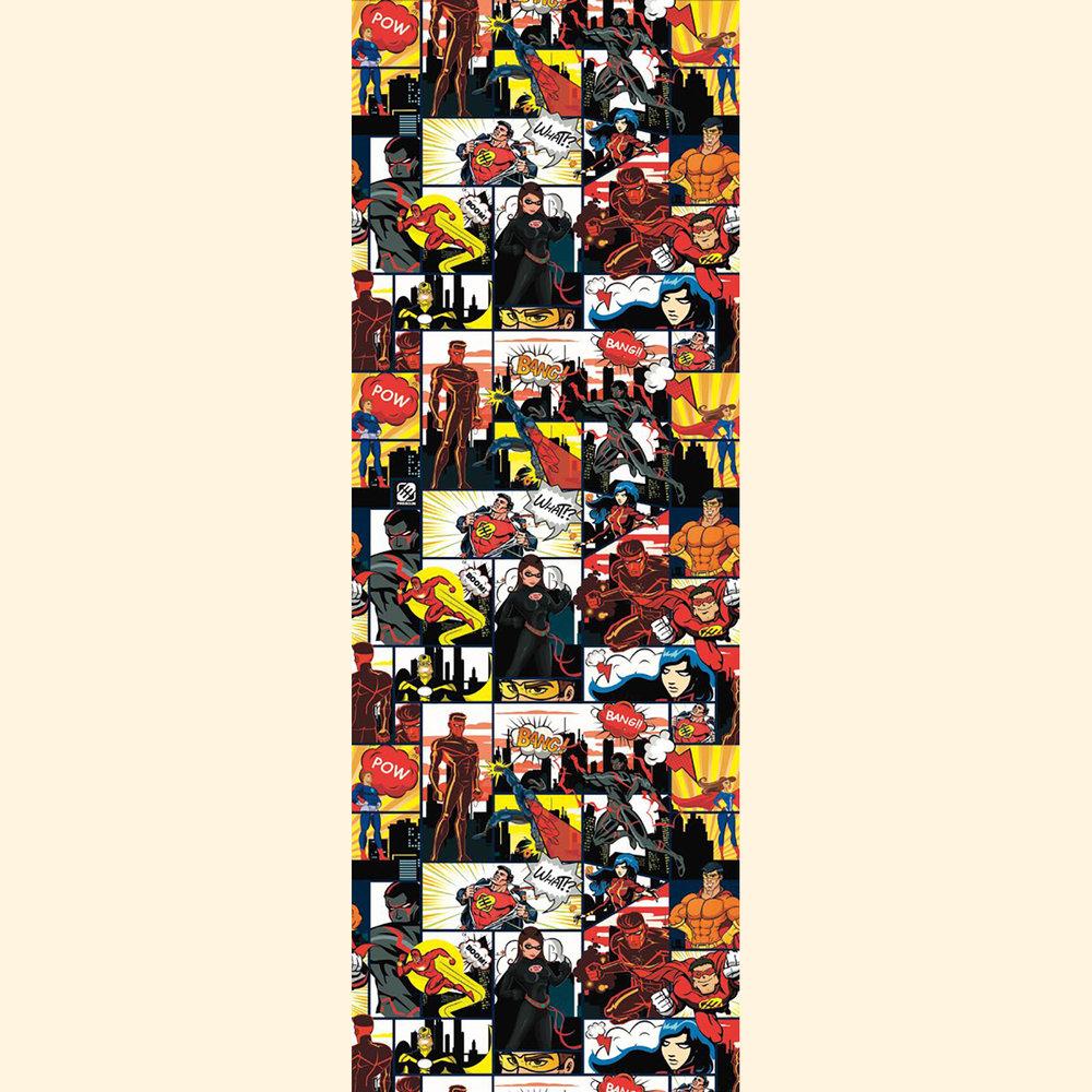Galerie Super Heroes Multi-coloured Mural - Product code: 51171010
