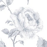 Galerie French Rose Trail Light Grey Wallpaper - Product code: G45328