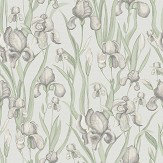 Galerie Iris Whisper Green Wallpaper