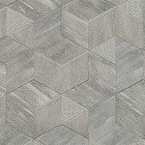 Albany Verdi Steel Grey Wallpaper