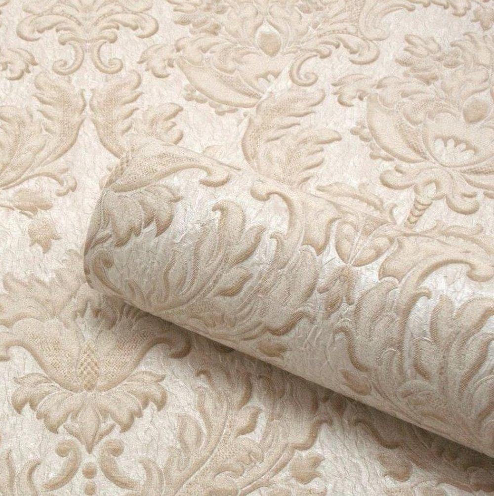 Albany Corelli Damask Cream Wallpaper extra image