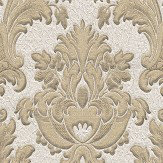 Albany Corelli Damask Pale Gold Wallpaper