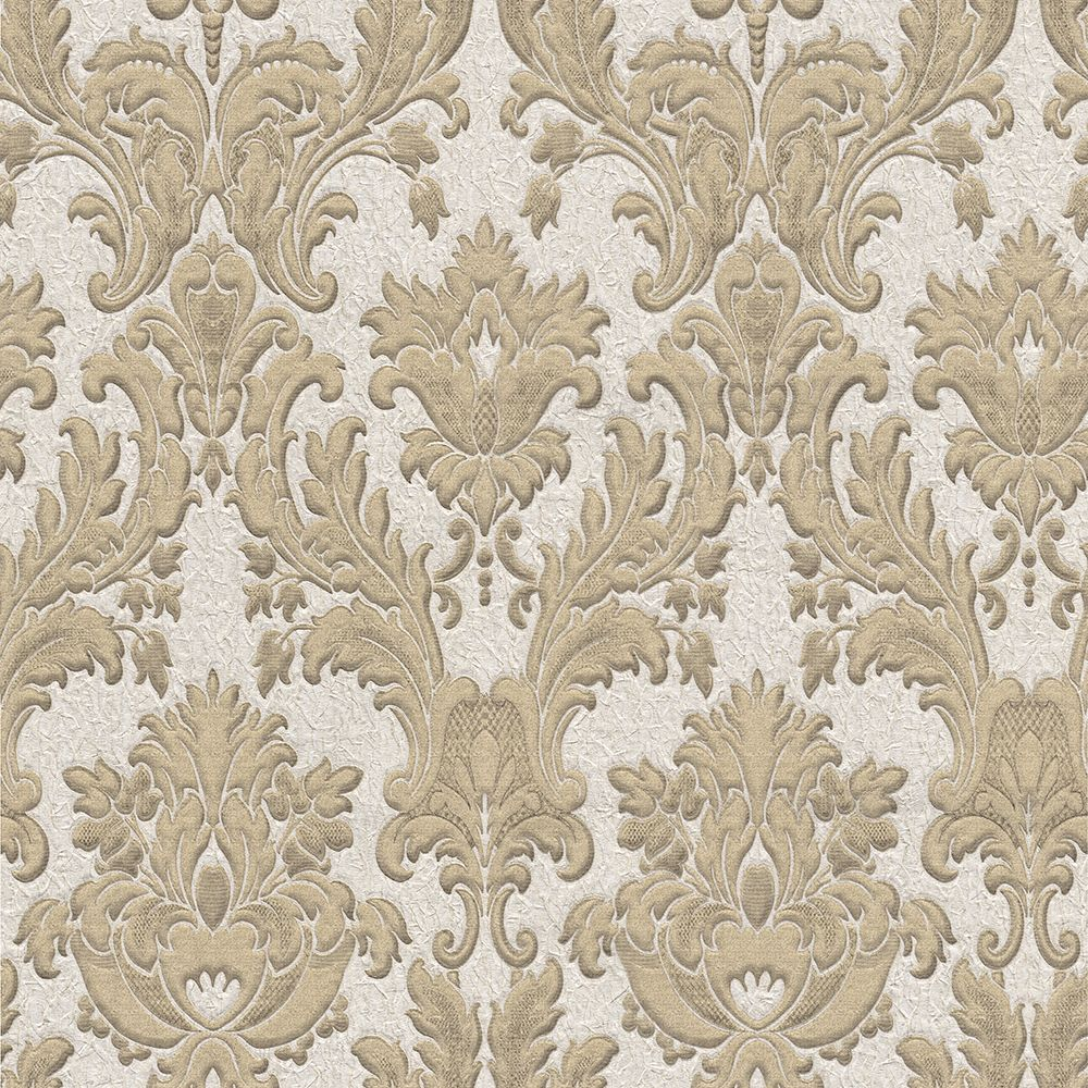 Albany Corelli Damask Pale Gold Wallpaper - Product code: 7792