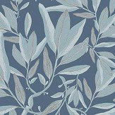 Galerie Komoreibi Blue Wallpaper - Product code: EL21034