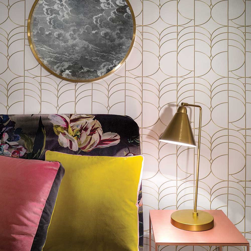 Galerie Lissome Gold Wallpaper - Product code: EL21053