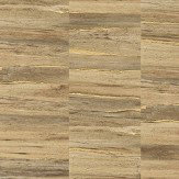 Albany Metallic Wood Natural and Gold Wallpaper
