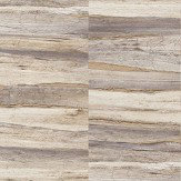Albany Metallic Wood Purple and Gilver Wallpaper