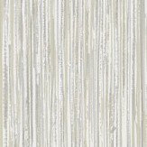 Albany Vertical Grasscloth Effect Silver and Gold Wallpaper