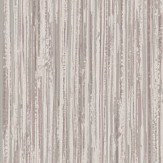 Albany Vertical Grasscloth Effect Rose Gold and Silver Wallpaper