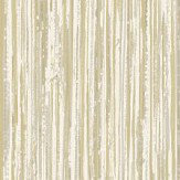 Albany Vertical Grasscloth Effect White and Gold Wallpaper