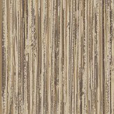 Albany Vertical Grasscloth Effect Antique Gold Wallpaper