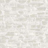Albany Small Bricks White Wallpaper